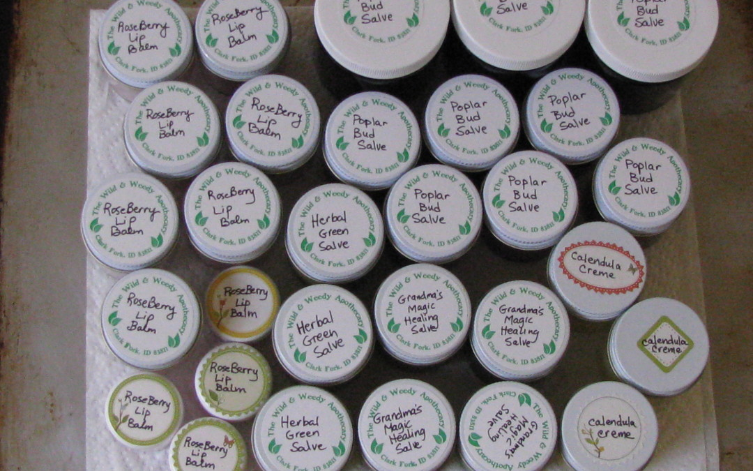 Herbal Salves for Your Self and Friends
